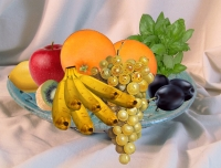 Fruits, for R.Pantoponne. Collage